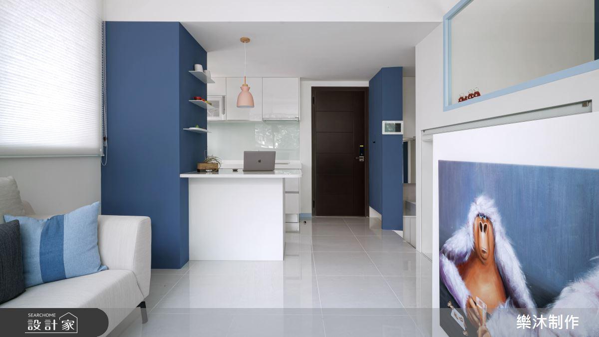 15坪新成屋(5年以下)_北歐風案例圖片_樂沐制作空間設計_樂沐_21之2