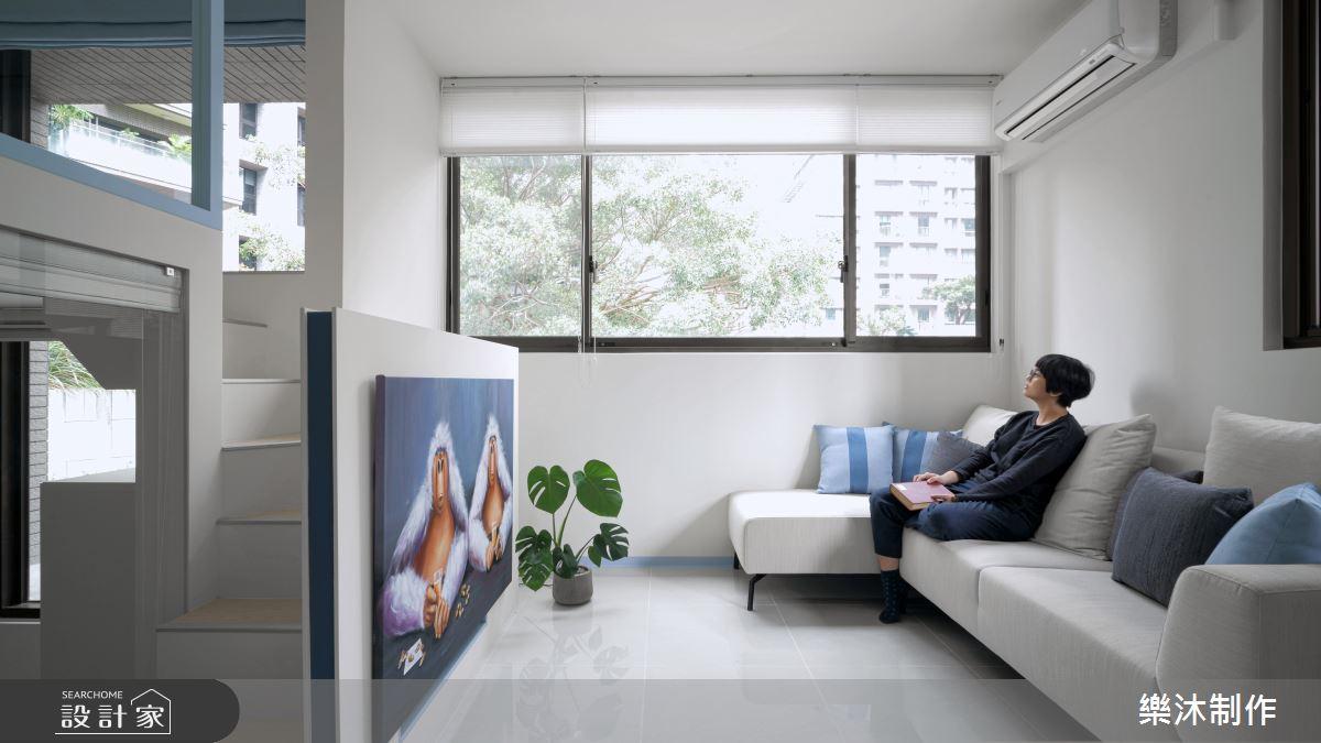 15坪新成屋(5年以下)_北歐風案例圖片_樂沐制作空間設計_樂沐_21之3