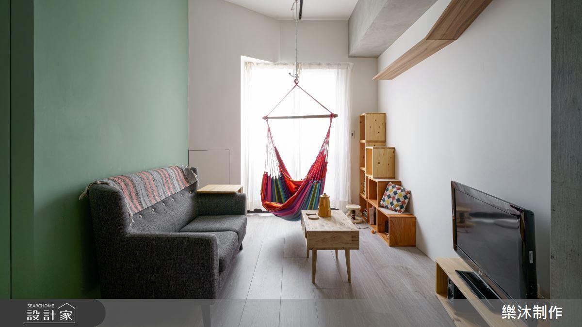 10坪新成屋(5年以下)_北歐風案例圖片_樂沐制作空間設計_樂沐_23之1