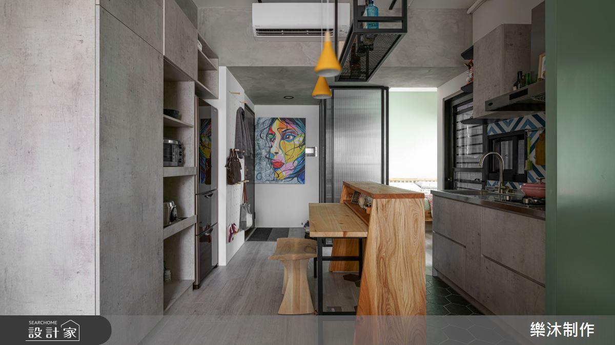 10坪新成屋(5年以下)_北歐風案例圖片_樂沐制作空間設計_樂沐_23之3