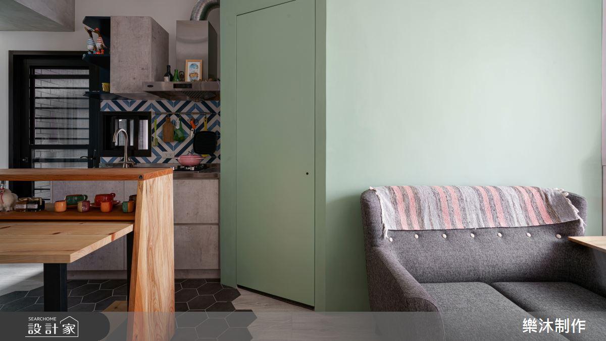 10坪新成屋(5年以下)_北歐風案例圖片_樂沐制作空間設計_樂沐_23之2