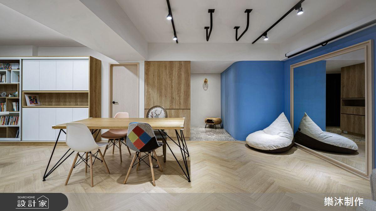 45坪老屋(41~50年)_北歐風案例圖片_樂沐制作空間設計_樂沐_25之2
