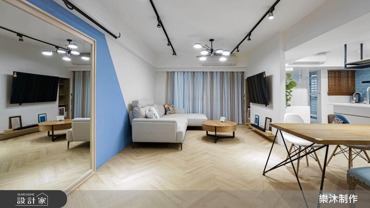 45坪老屋(41~50年)_北歐風案例圖片_樂沐制作空間設計_樂沐_25之3