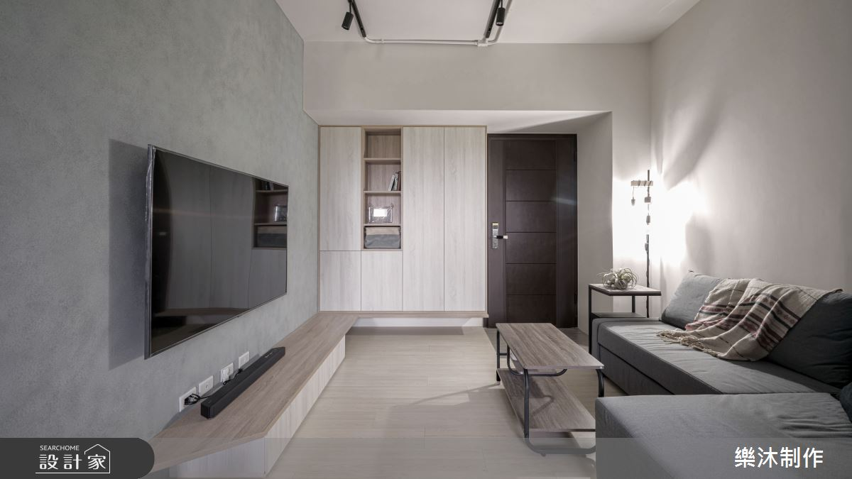17坪新成屋(5年以下)_北歐風案例圖片_樂沐制作空間設計_樂沐_28之3
