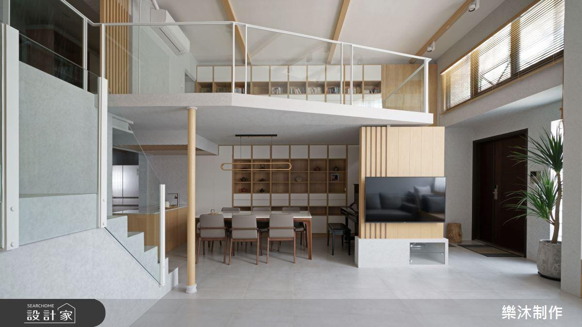 45坪中古屋(5~15年)_日式無印風案例圖片_樂沐制作空間設計_樂沐_31之3