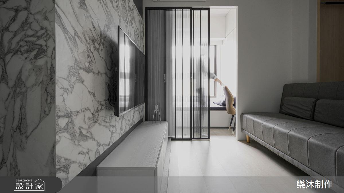 20坪新成屋(5年以下)_現代風案例圖片_樂沐制作空間設計_樂沐_34之3