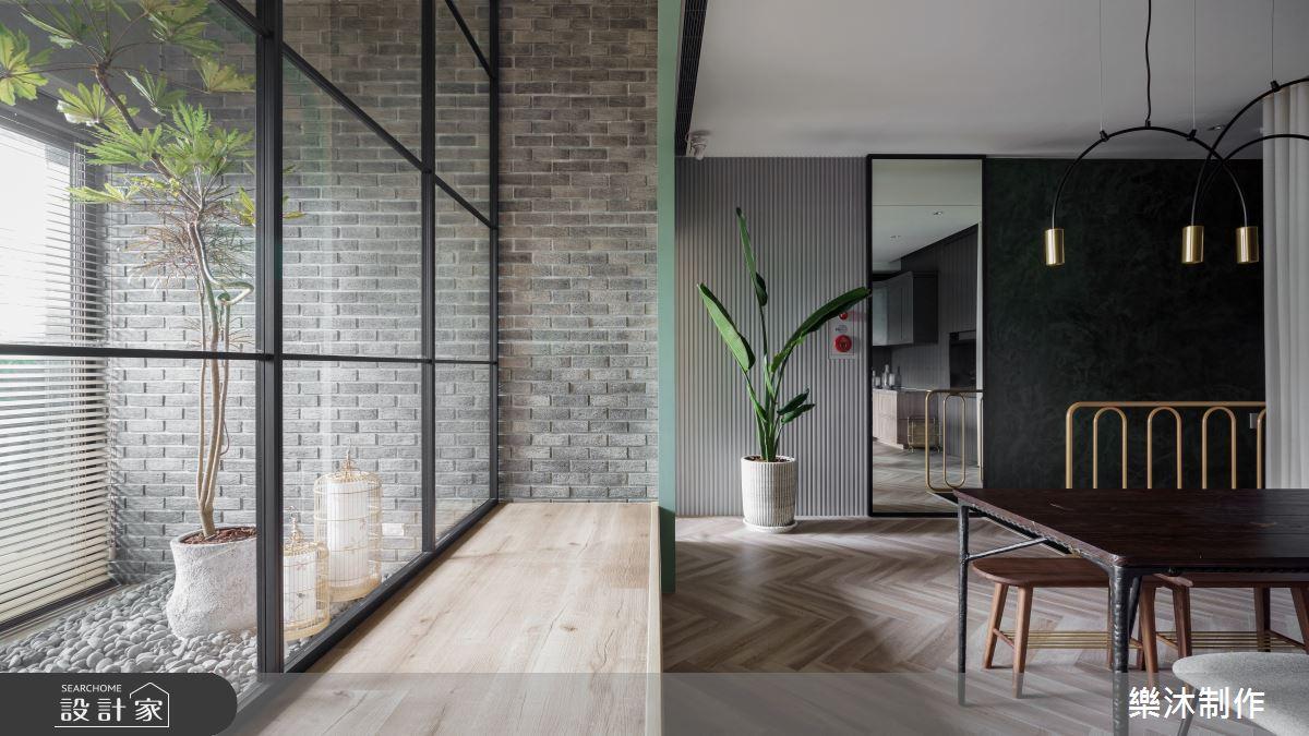 60坪新成屋(5年以下)_混搭風案例圖片_樂沐制作空間設計_樂沐_35之1