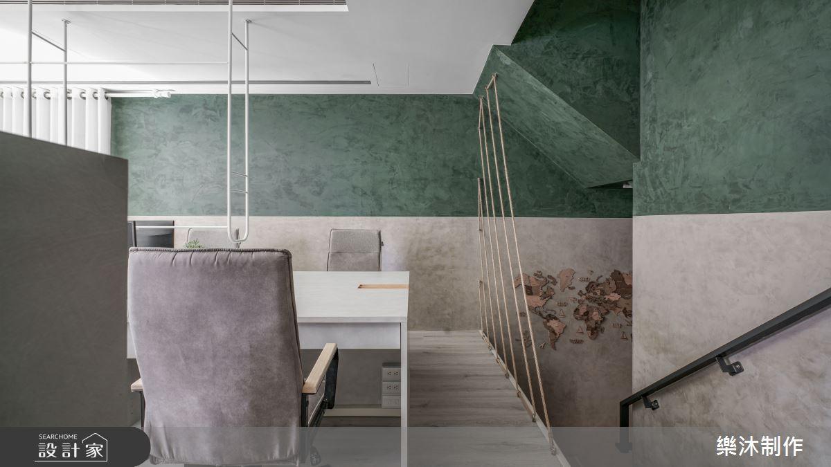60坪新成屋(5年以下)_混搭風案例圖片_樂沐制作空間設計_樂沐_35之3