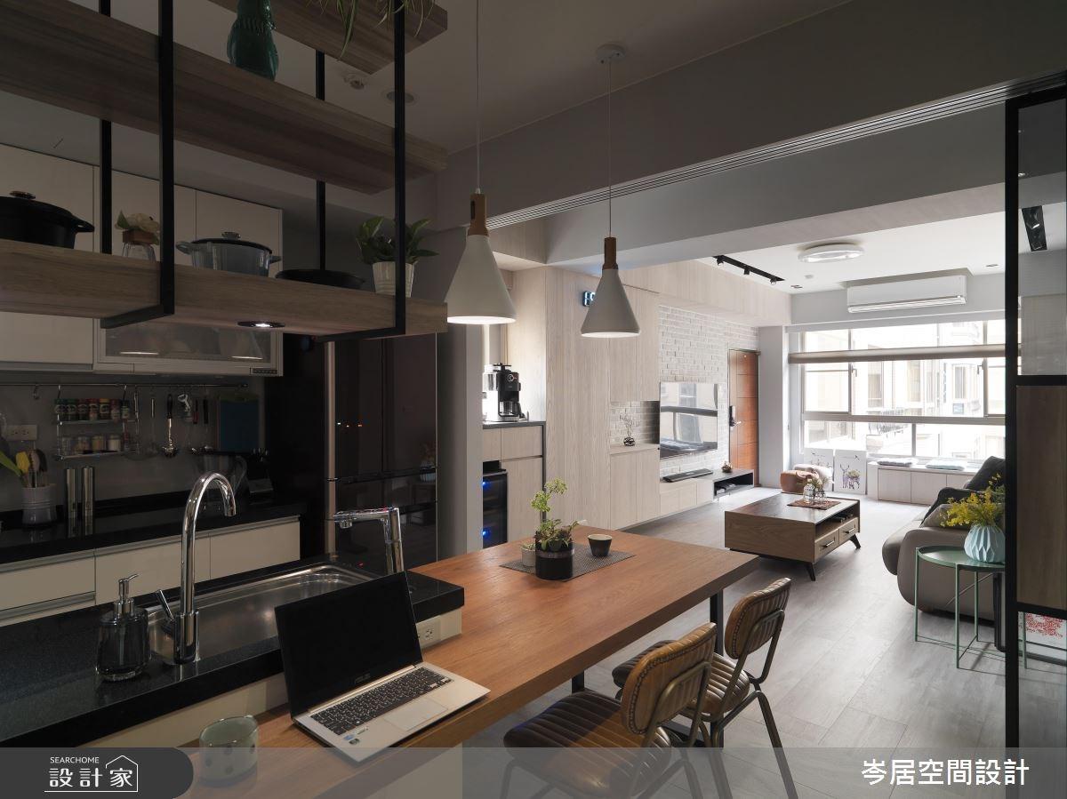 22坪中古屋(5~15年)_混搭風餐廳案例圖片_岑居空間設計_岑居_04之10