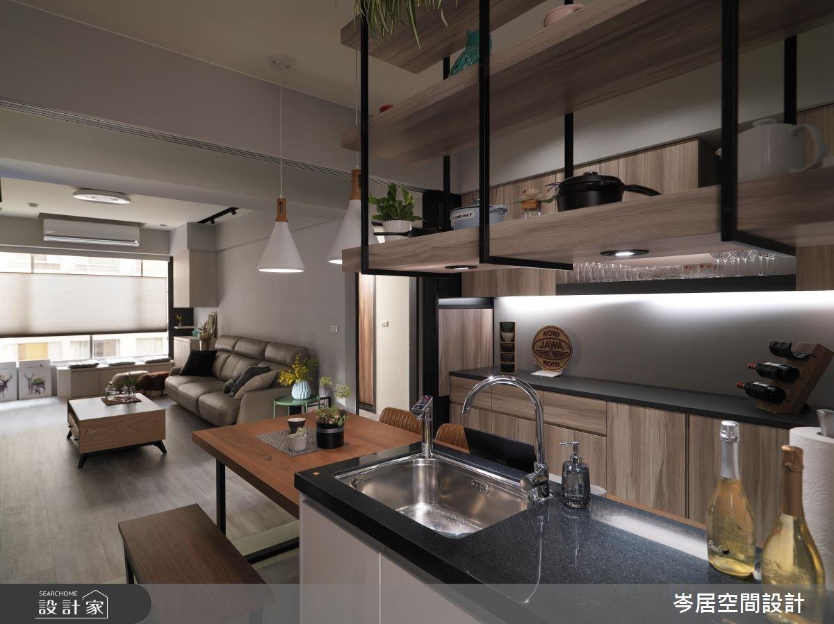 22坪中古屋(5~15年)_混搭風餐廳案例圖片_岑居空間設計_岑居_04之11