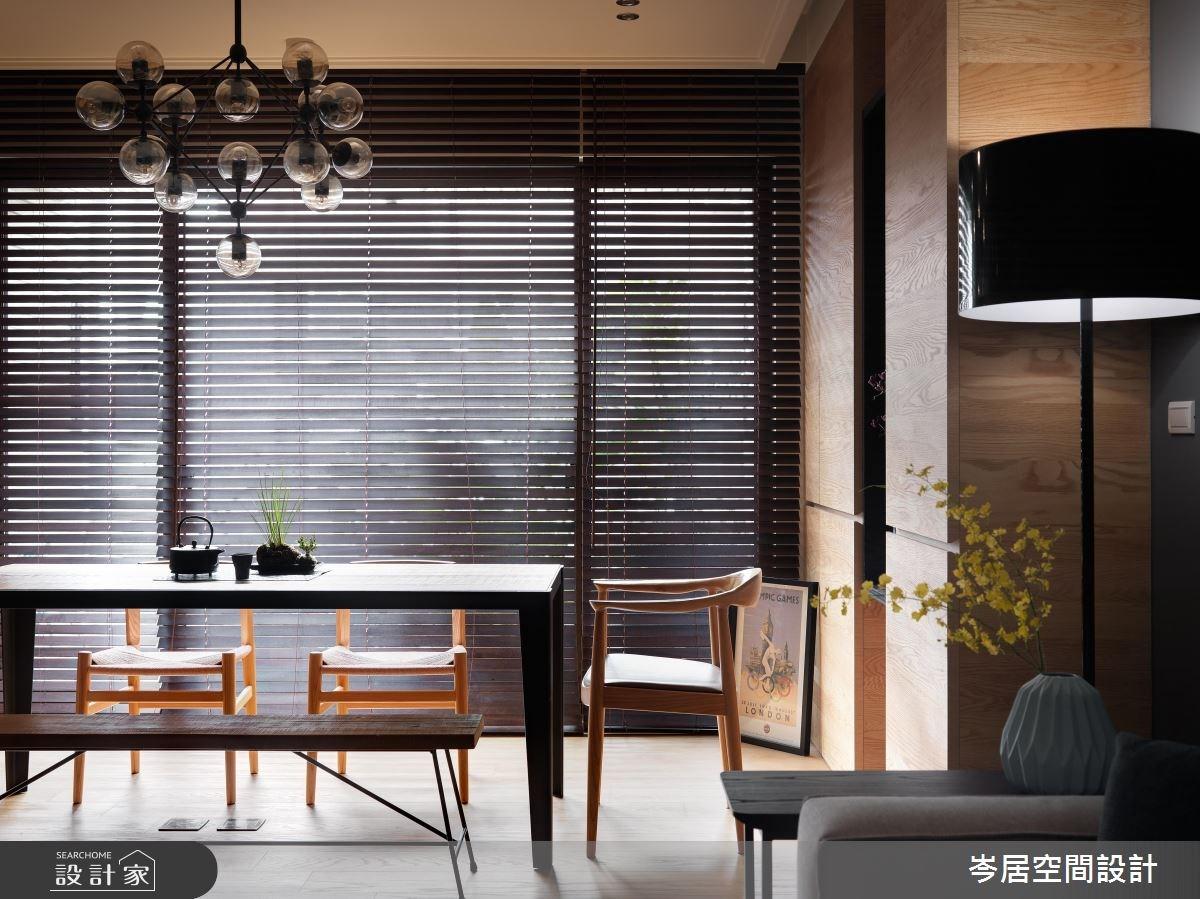 35坪新成屋(5年以下)_混搭風餐廳案例圖片_岑居空間設計_岑居_05之7