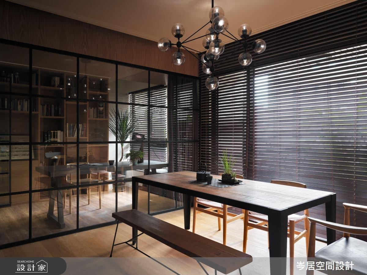 35坪新成屋(5年以下)_混搭風餐廳案例圖片_岑居空間設計_岑居_05之9