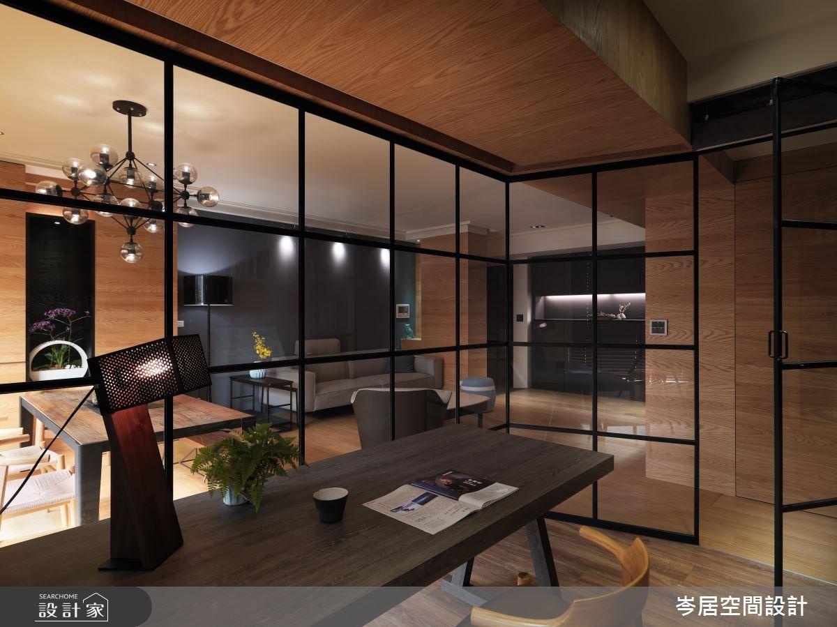 35坪新成屋(5年以下)_混搭風餐廳案例圖片_岑居空間設計_岑居_05之11