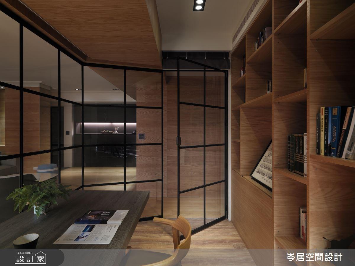 35坪新成屋(5年以下)_混搭風書房案例圖片_岑居空間設計_岑居_05之12