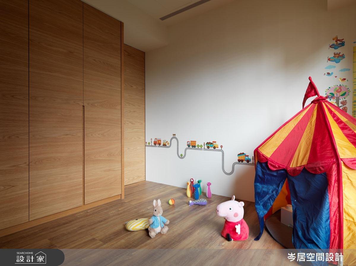 35坪新成屋(5年以下)_混搭風兒童房兒童房案例圖片_岑居空間設計_岑居_05之14
