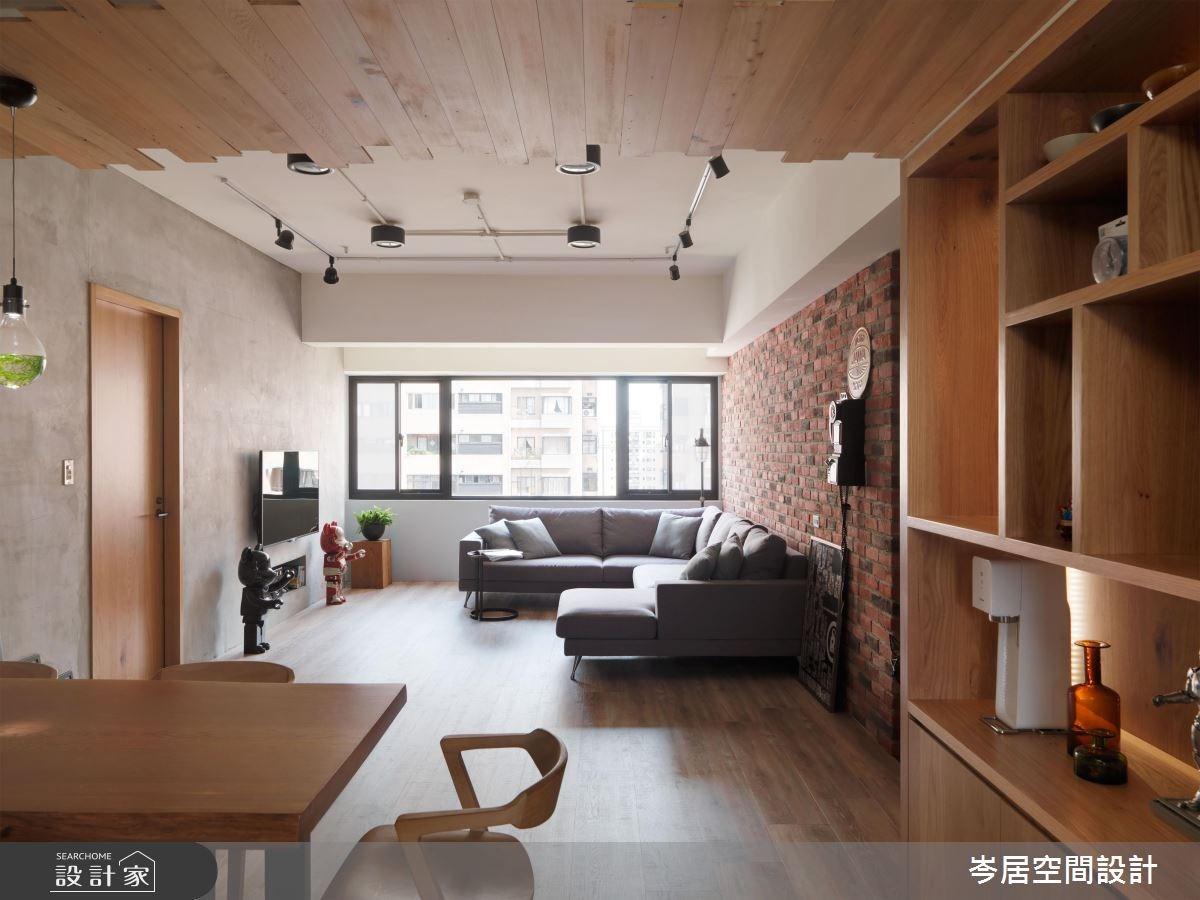 35坪老屋(16~30年)_混搭風客廳案例圖片_岑居空間設計_岑居_07之9