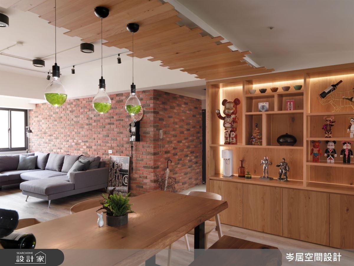 35坪老屋(16~30年)_混搭風餐廳案例圖片_岑居空間設計_岑居_07之12