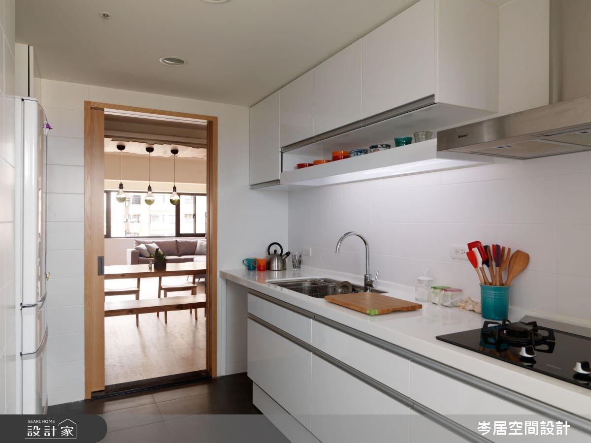 35坪老屋(16~30年)_混搭風廚房案例圖片_岑居空間設計_岑居_07之14