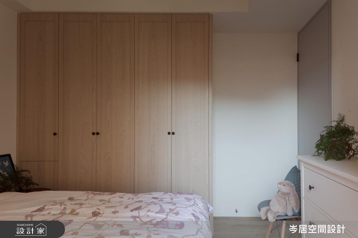 19坪中古屋(5~15年)_混搭風臥室案例圖片_岑居空間設計_岑居_09之16