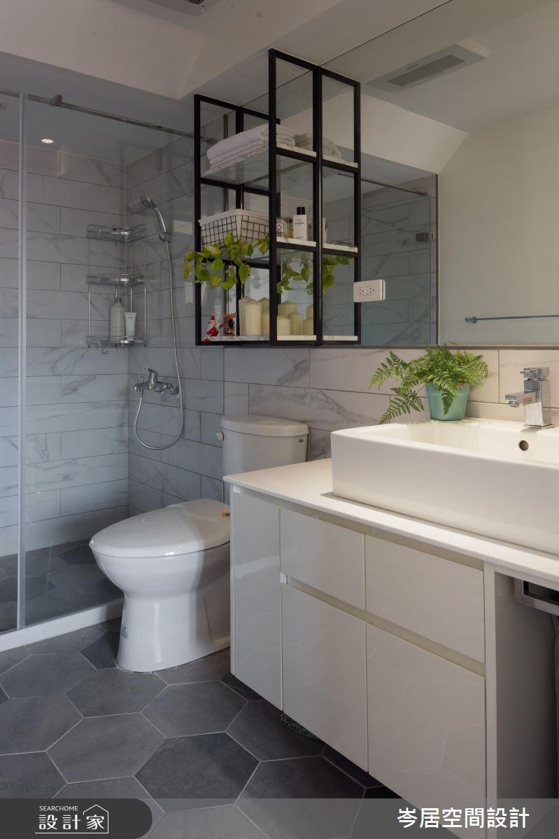 19坪中古屋(5~15年)_混搭風浴室案例圖片_岑居空間設計_岑居_09之18
