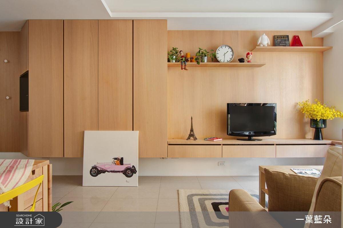 20坪中古屋(5~15年)_北歐風客廳案例圖片_一葉藍朵設計家飾所_一葉藍朵_01之2