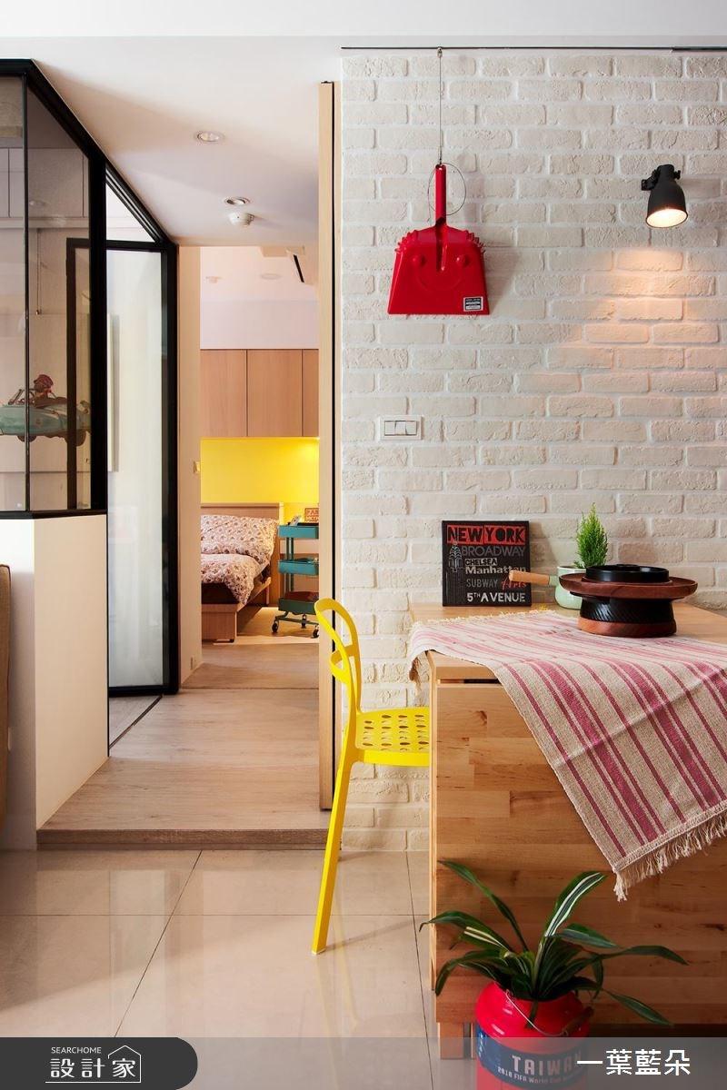 20坪中古屋(5~15年)_北歐風餐廳案例圖片_一葉藍朵設計家飾所_一葉藍朵_01之3