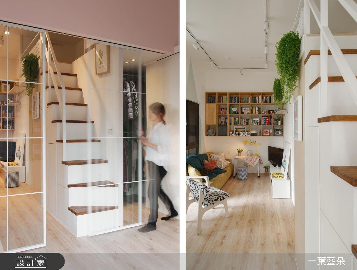 15坪新成屋(5年以下)_北歐風客廳案例圖片_一葉藍朵設計家飾所_一葉藍朵_02之4