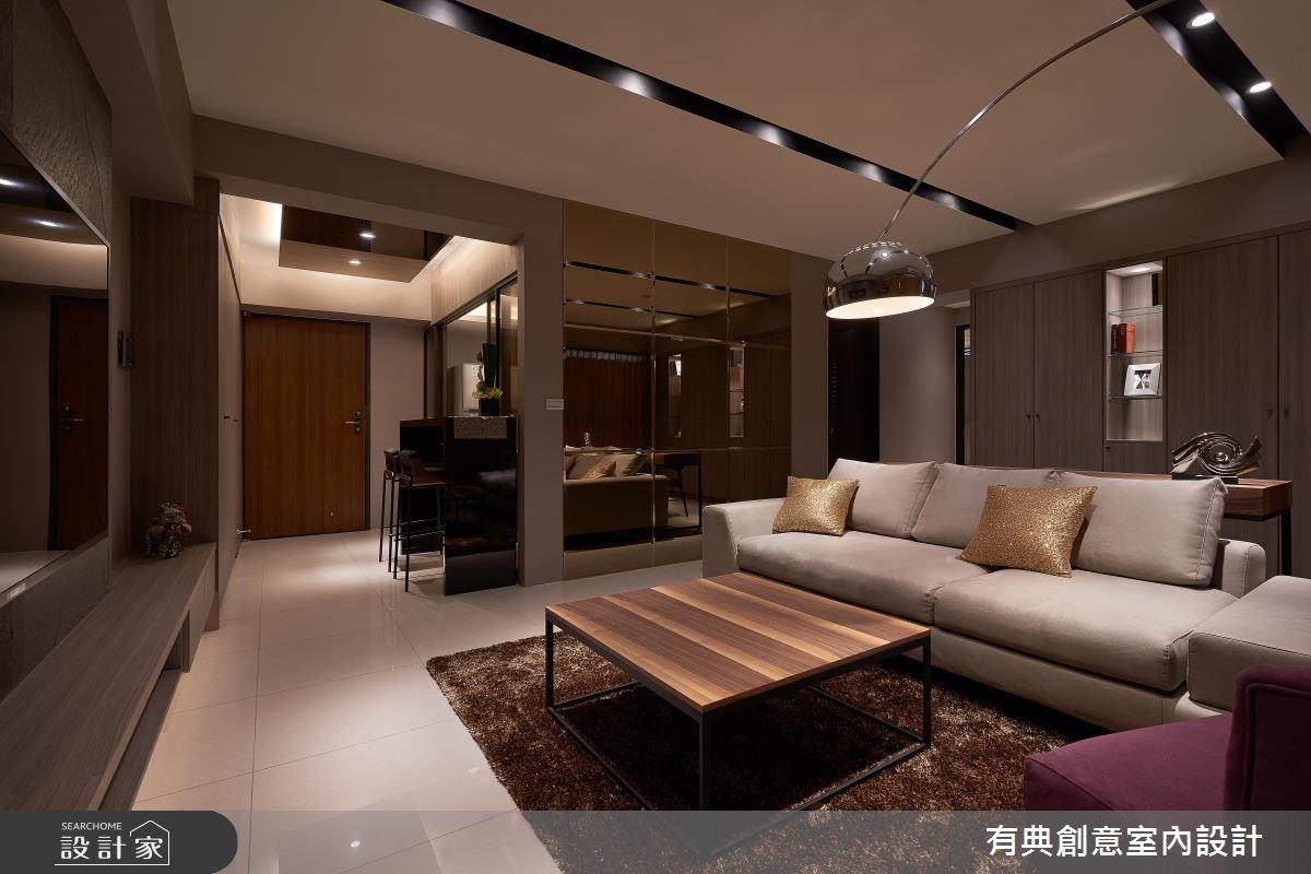 30坪新成屋(5年以下)_奢華風案例圖片_有典創意室內裝修工程有限公司_有典_03之3
