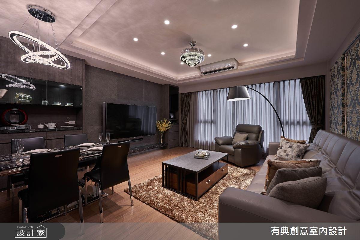 37坪新成屋(5年以下)_奢華風案例圖片_有典創意室內裝修工程有限公司_有典_04之4