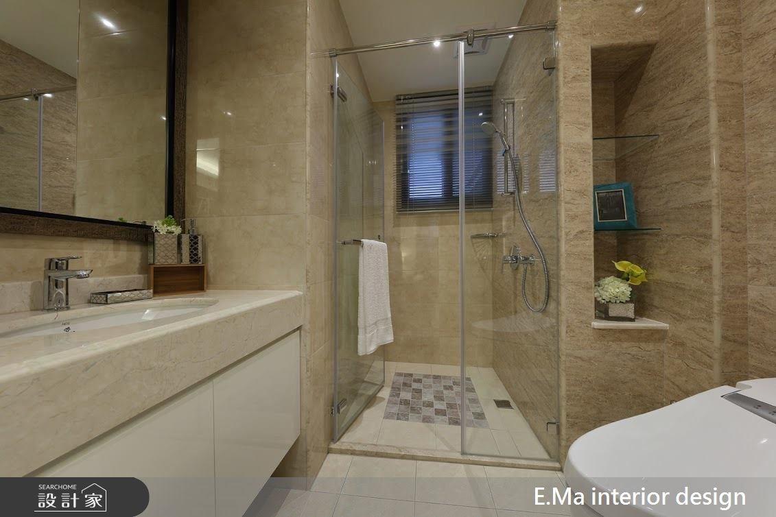 38坪新成屋(5年以下)_新中式風浴室案例圖片_艾馬室內裝修設計_艾馬_03之4