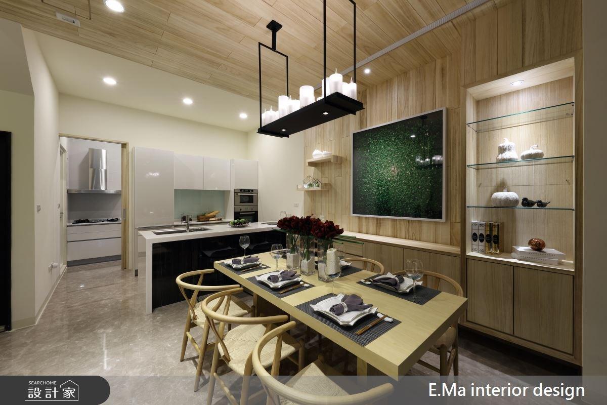 200坪新成屋(5年以下)_新中式風餐廳吧檯案例圖片_艾馬室內裝修設計_艾馬_04之2