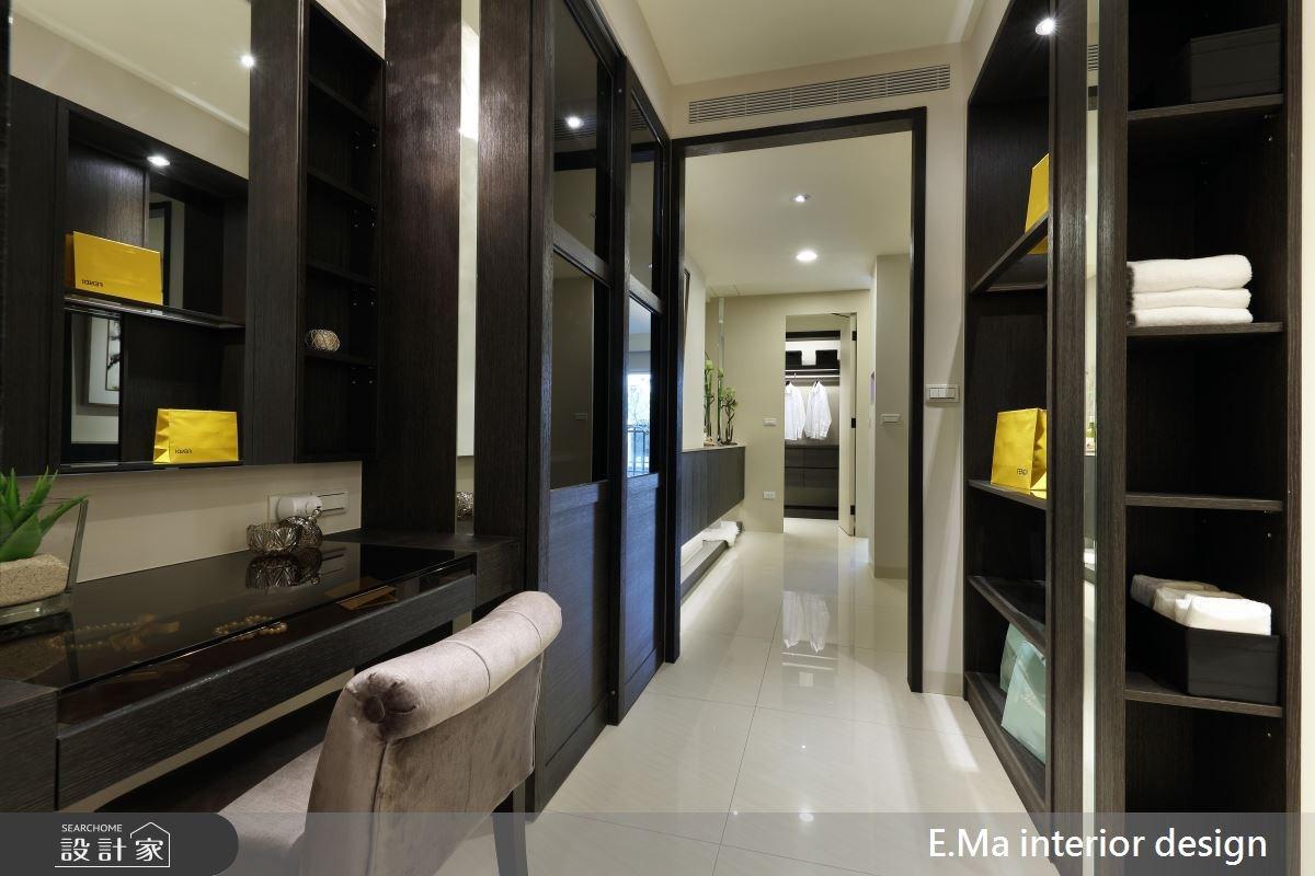 200坪新成屋(5年以下)_新中式風更衣間案例圖片_艾馬室內裝修設計_艾馬_04之4