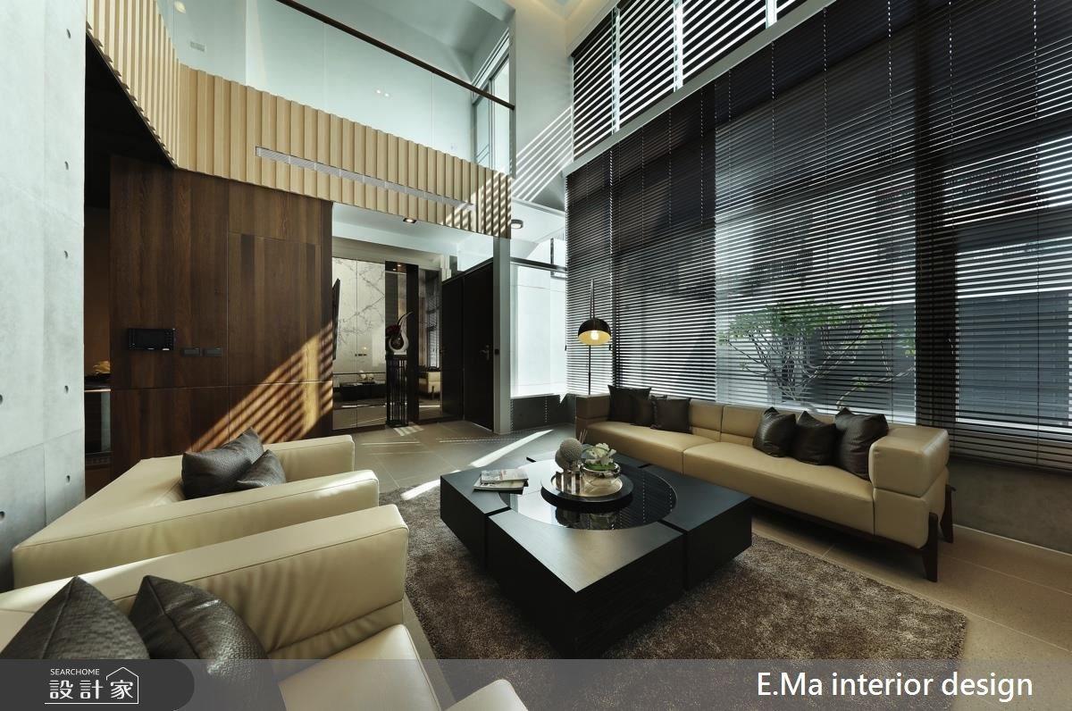 138坪新成屋(5年以下)_現代風客廳案例圖片_艾馬室內裝修設計_艾馬_05之1