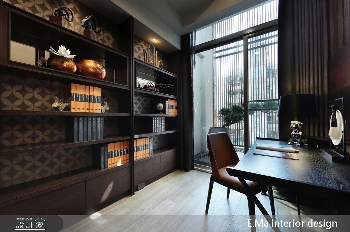 138坪新成屋(5年以下)_現代風書房案例圖片_艾馬室內裝修設計_艾馬_05之9