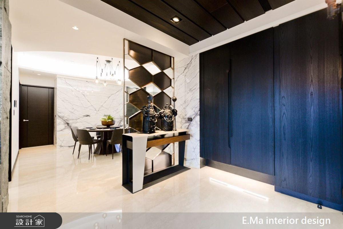 60坪新成屋(5年以下)_現代風玄關案例圖片_艾馬室內裝修設計_艾馬_06之2