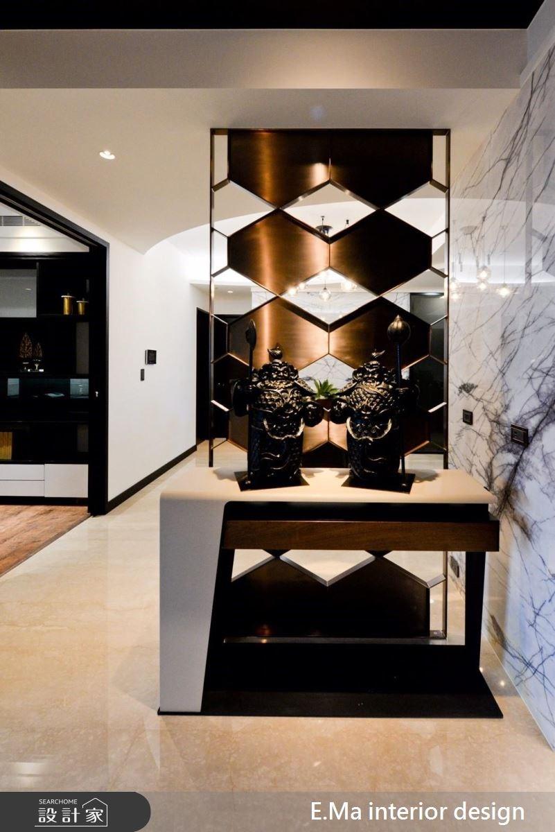 60坪新成屋(5年以下)_現代風玄關案例圖片_艾馬室內裝修設計_艾馬_06之3