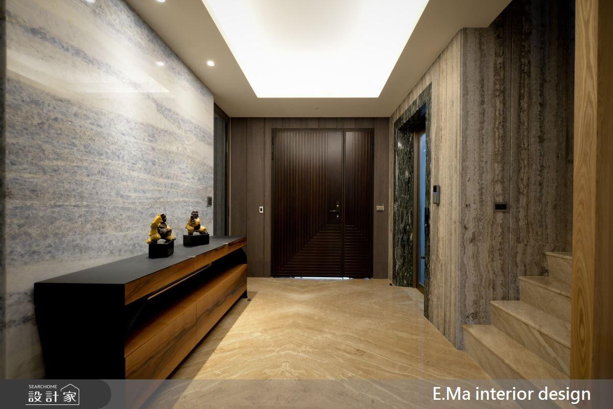 186坪新成屋(5年以下)_現代風玄關案例圖片_艾馬室內裝修設計_艾馬_07之1