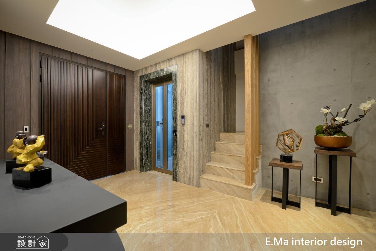 186坪新成屋(5年以下)_現代風玄關案例圖片_艾馬室內裝修設計_艾馬_07之2
