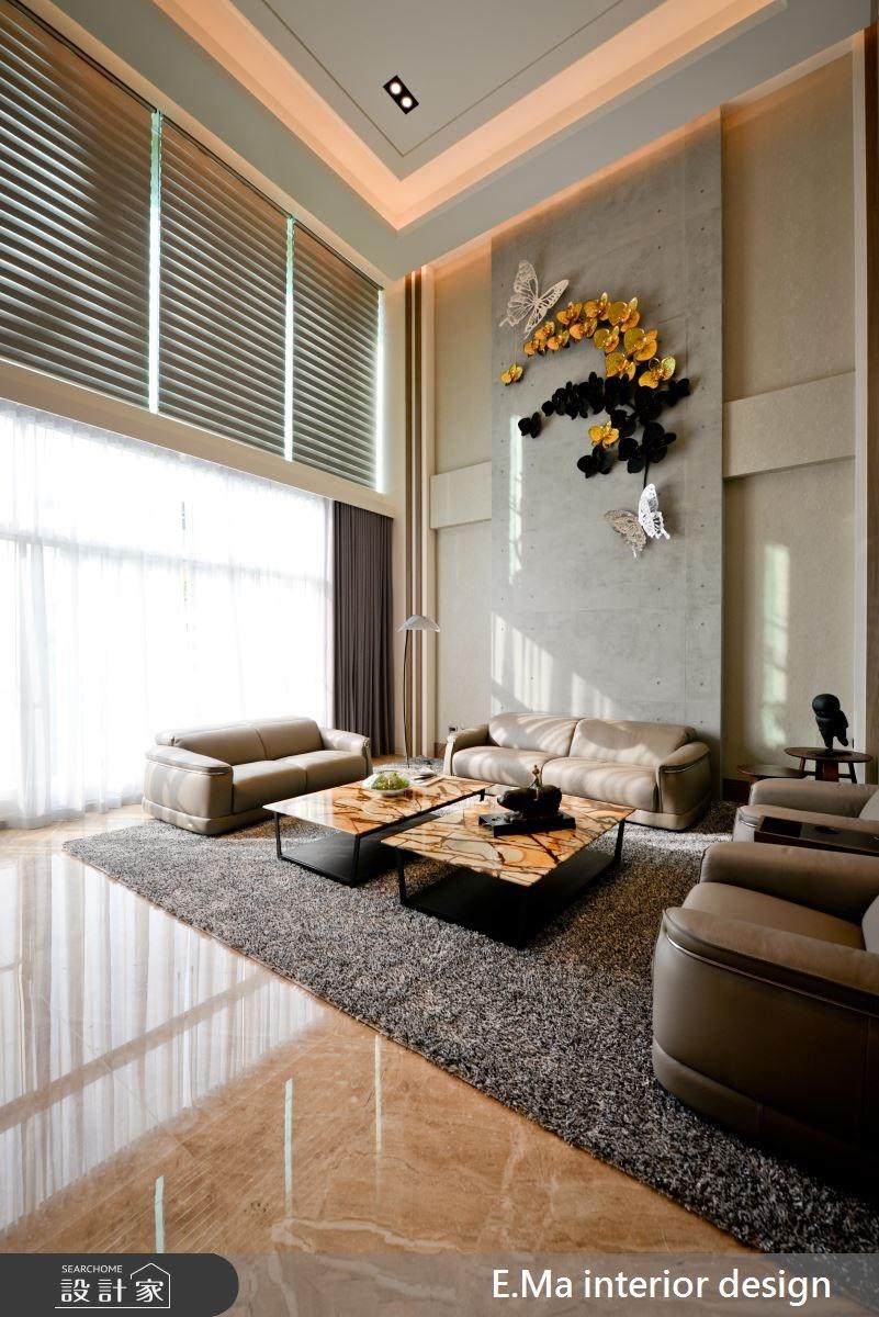 186坪新成屋(5年以下)_現代風客廳案例圖片_艾馬室內裝修設計_艾馬_07之3