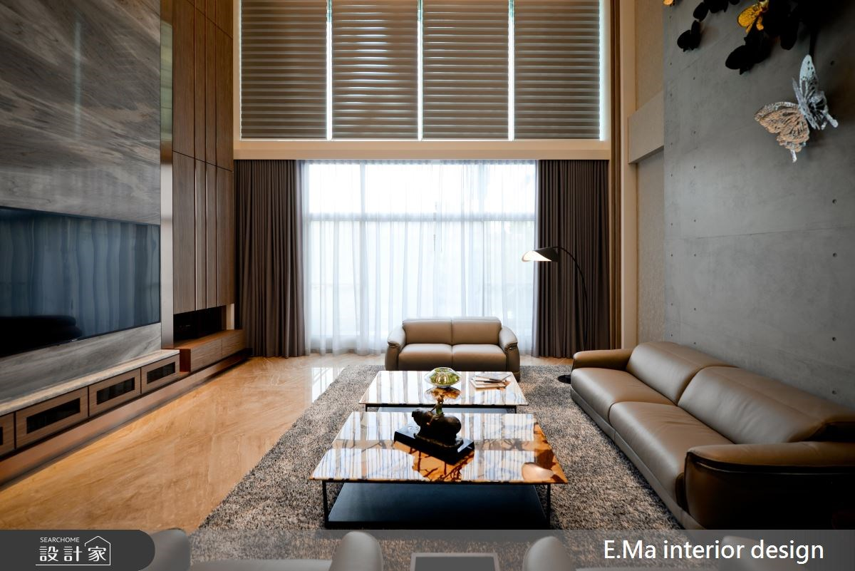 186坪新成屋(5年以下)_現代風客廳案例圖片_艾馬室內裝修設計_艾馬_07之4