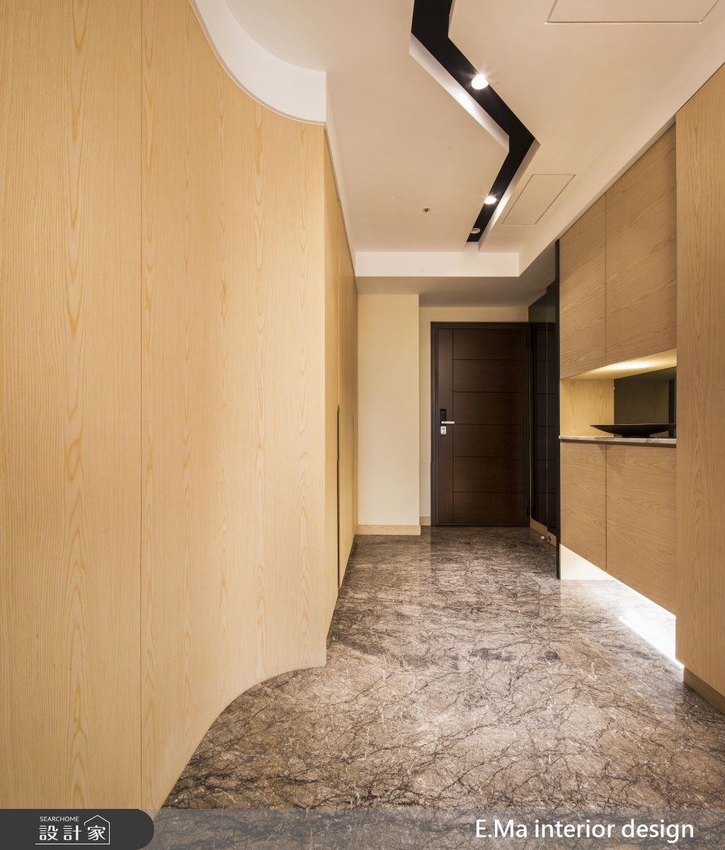 50坪新成屋(5年以下)_人文禪風玄關案例圖片_艾馬室內裝修設計_艾馬_09之2