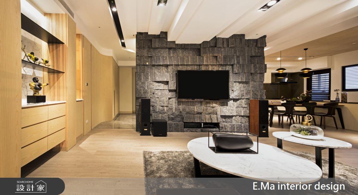 50坪新成屋(5年以下)_人文禪風客廳案例圖片_艾馬室內裝修設計_艾馬_09之4