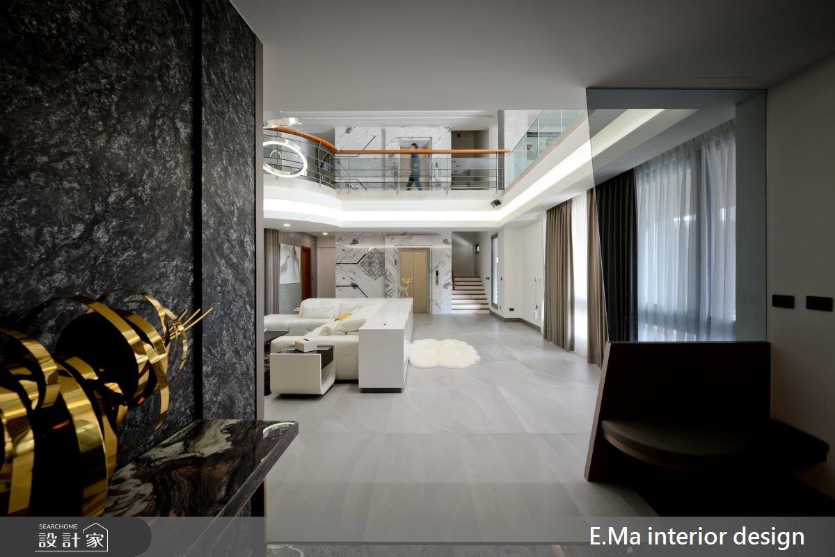 500坪新成屋(5年以下)_奢華風玄關案例圖片_艾馬室內裝修設計_艾馬_10之2