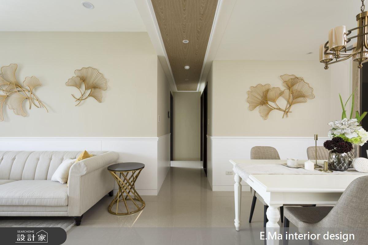 31坪新成屋(5年以下)_新古典走廊案例圖片_艾馬室內裝修設計_艾馬_12之3