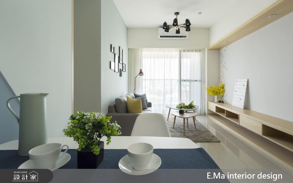 20坪新成屋(5年以下)_北歐風客廳餐廳案例圖片_艾馬室內裝修設計_艾馬_13之2