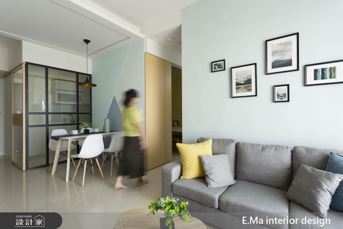 20坪新成屋(5年以下)_北歐風客廳餐廳案例圖片_艾馬室內裝修設計_艾馬_13之4
