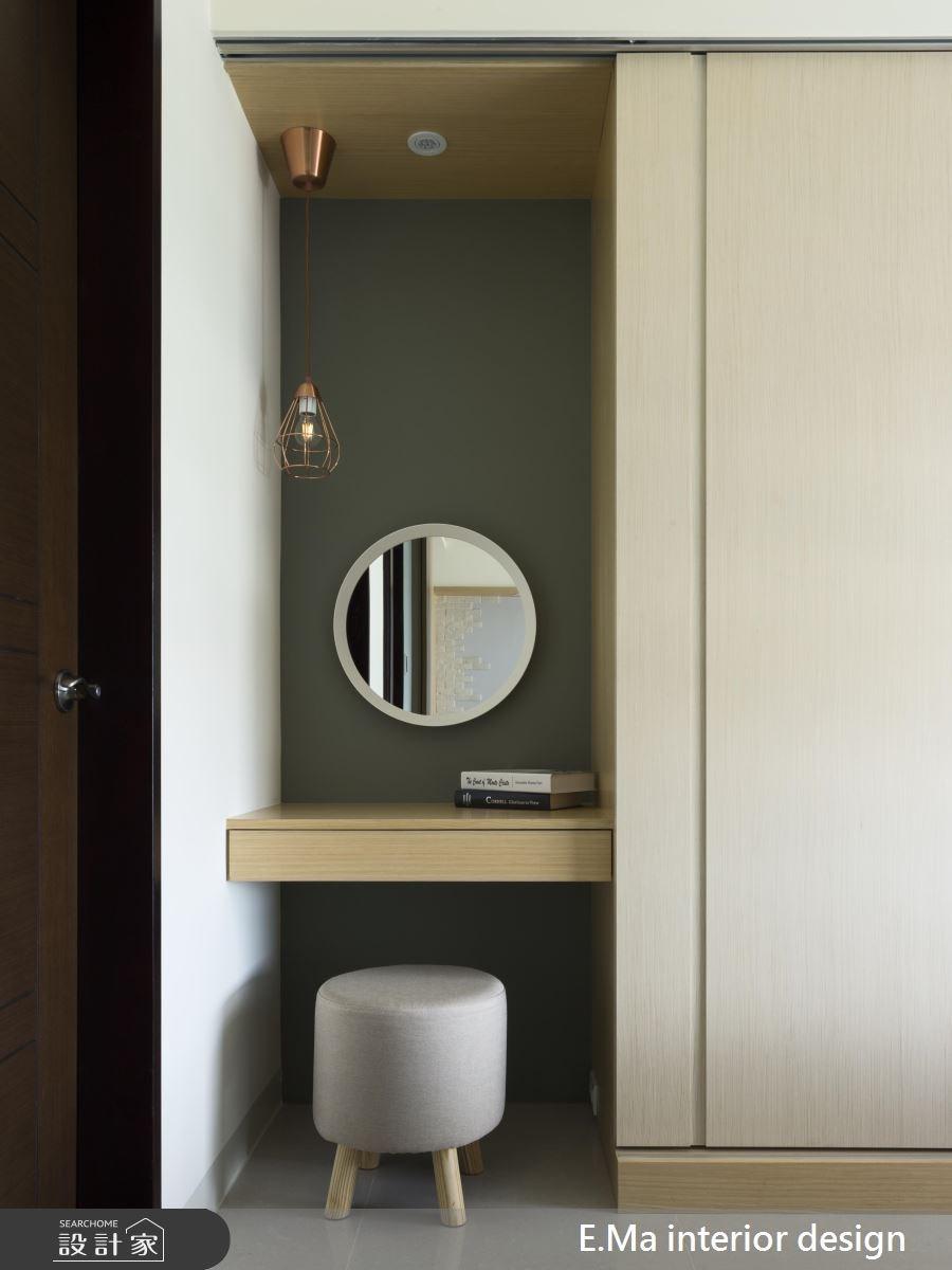 20坪新成屋(5年以下)_北歐風臥室案例圖片_艾馬室內裝修設計_艾馬_13之5