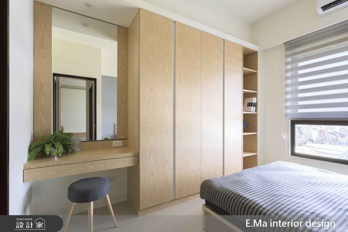 20坪新成屋(5年以下)_人文禪風臥室案例圖片_艾馬室內裝修設計_艾馬_14之3