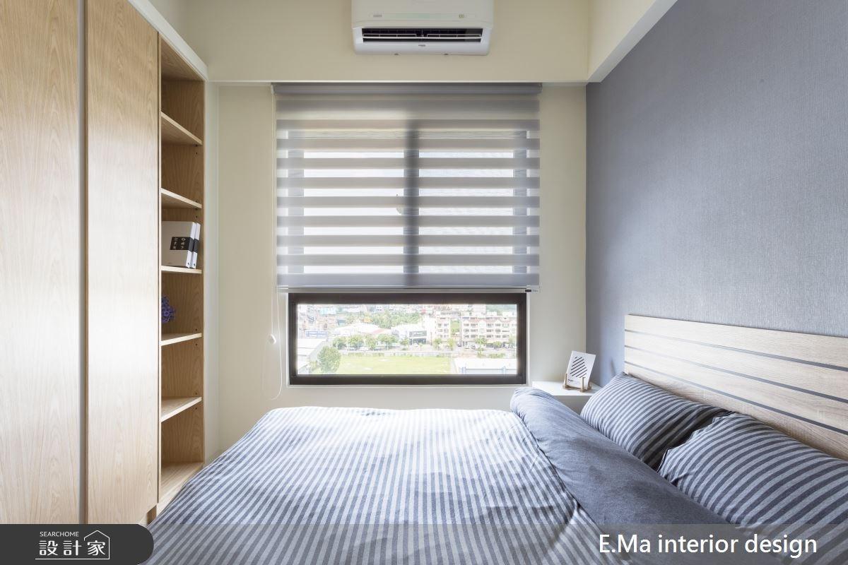 20坪新成屋(5年以下)_人文禪風臥室案例圖片_艾馬室內裝修設計_艾馬_14之4