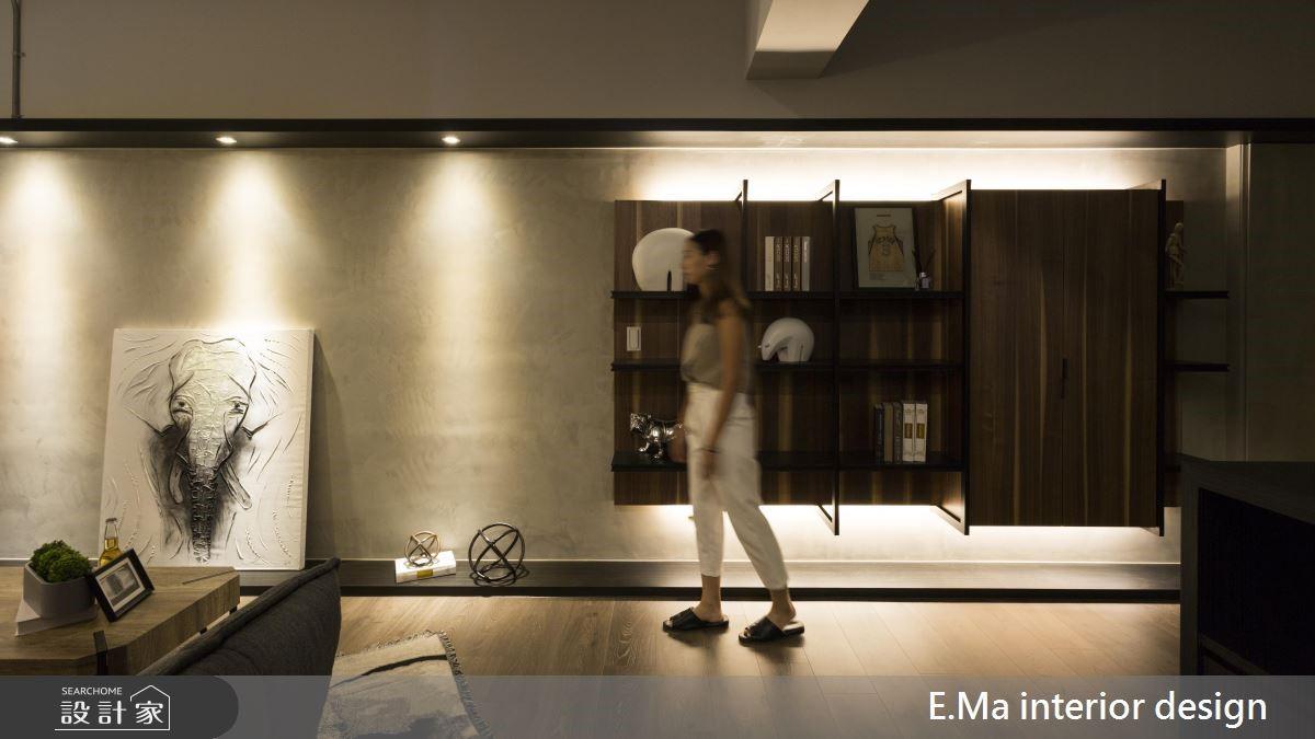 48坪新成屋(5年以下)_工業風案例圖片_艾馬室內裝修設計_艾馬_16之3